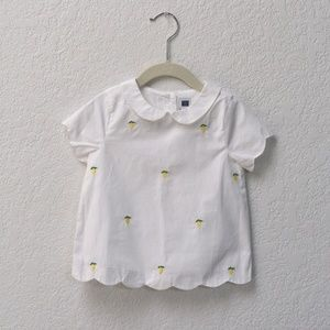 NEW Janie and Jack Girl Top, 2 Toddler